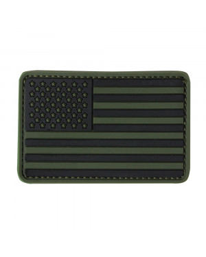 PVC US FLAG PATCH ( 6 PCS / PACK )