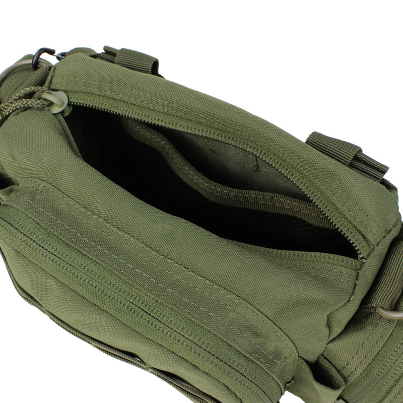 Modular Style Deployment Bag Compact Tactical Military Hand Bag Carrier-BLACK
